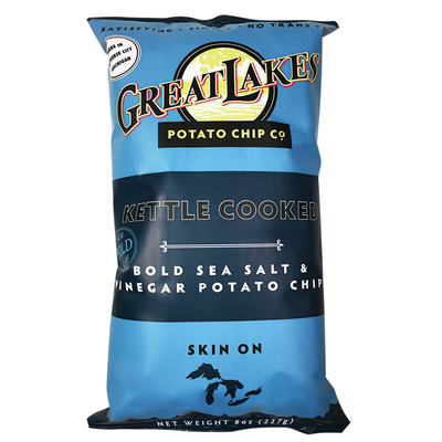 Bold Sea Salt & Vinegar Potato Chips
